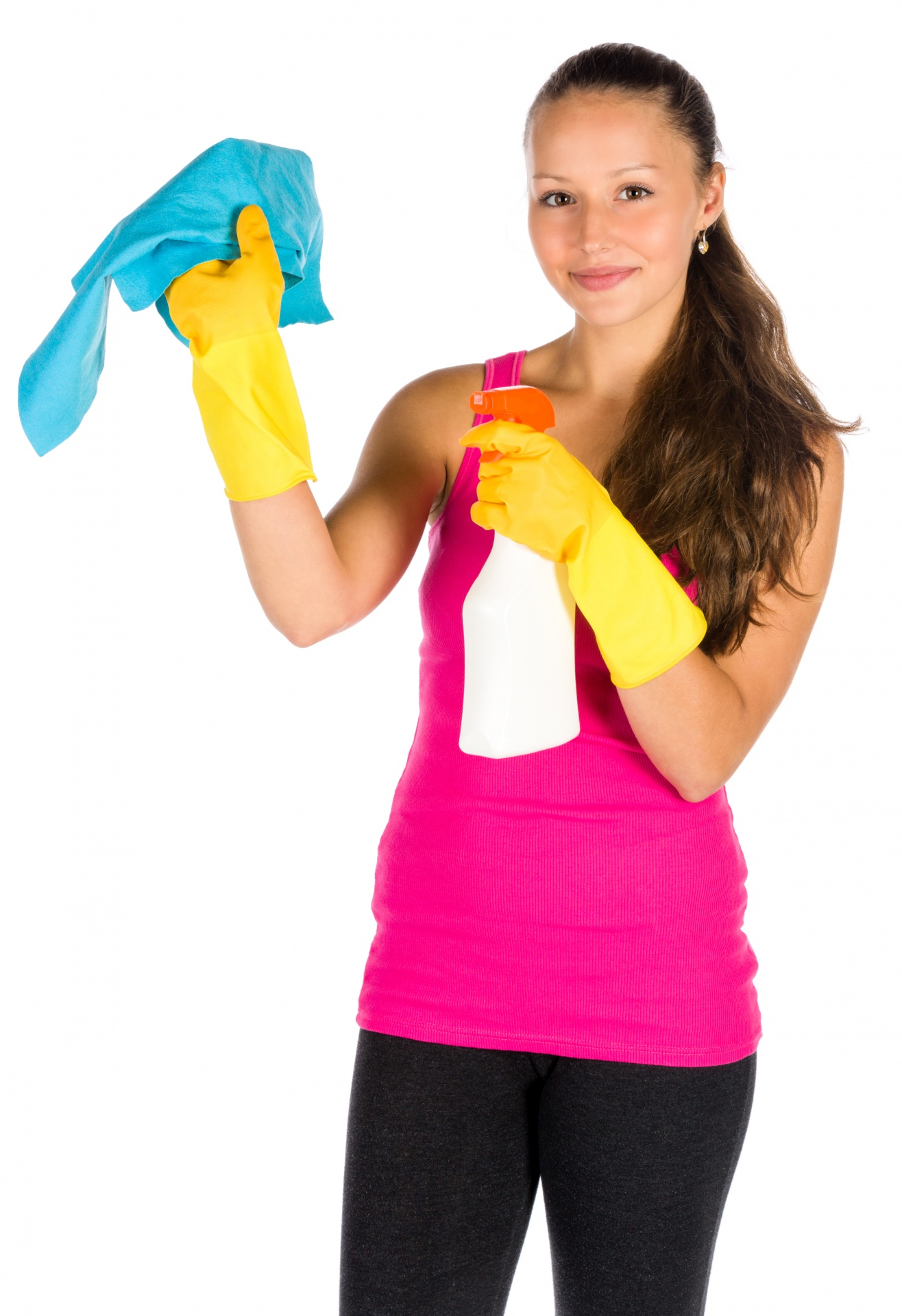HR cleaning women